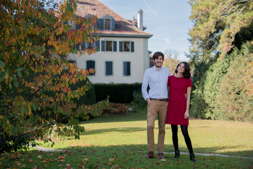 Jasmina Cornut et Dimitri Vallon, intendants au domaine de la Doges