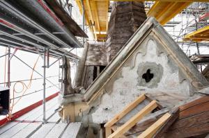 2018 Distinction Aile2 pendant travaux toiture